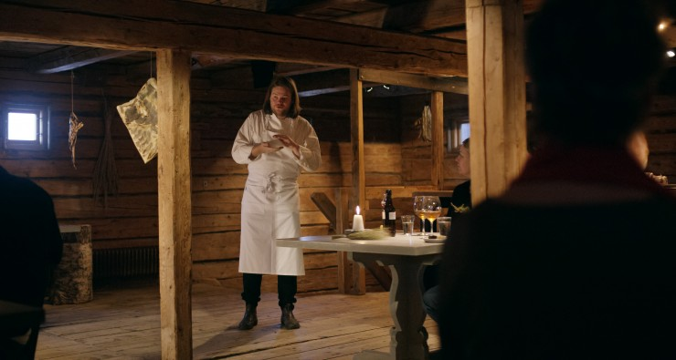 "Chef Magnus Nilsson in the Netflix Original Series ""Chef's Table"". Photo Courtesy of Netflix."